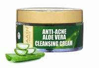 Vaadi Herbals Anti Acne Aloe Vera Cleansing Cream, - 50 gm | Free Shipping