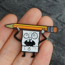 Jewelry  Spongebob Squarepants Doodlebob Enamel Lapel Pin  Button Hat Bag