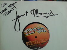 """Tzant - Bounce with the massive 10"""" single 1998 PROMO BOUNCE1 SIGNED"""