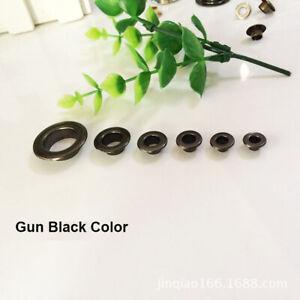 Brass Eyelet with Washer 3.5 4 5 6 8 10 12 14 15mm Grommet Rivet Repair Craft