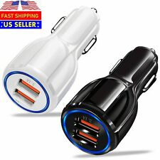 USB Fast Quick CAR Charger Adapter for Android Samsung LG iPhone Pixel iPad