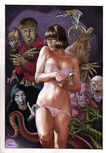 "Velma (11""x17"") by Joe Pimentel - Ed Benes Studio"