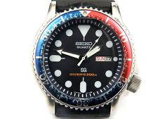 Mens Seiko 5H26-7A19 Pepsi Quartz Professional Divers Watch - 200m