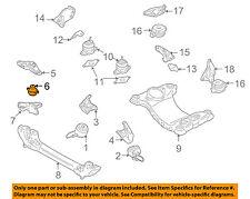 AUDI OEM 04-10 A8 Quattro-Engine Motor Mount 4E0199267S