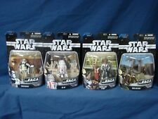 Lot 4 Star Wars Episode IV A New Hope Saga Collection 2006 R5-D4 Sandtrooper +