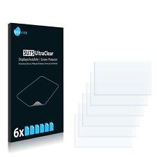 6x Displayschutzfolie für Erisin ES3491V Schutzfolie Klar Folie Displayfolie