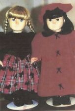 "DRESS  Coat Hat Sewing PATTERN fits 17"" 18""  American Girl dolls AG"