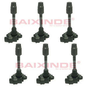 6x Ignition Coils 22448-31U06 MCP-1350 For NISSAN MAXIMA INFINITI I30 3.0L V6
