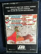Fred Wesley & The Horny Horns - Say Blow By Blow Backwards SEALED ORIGINAL TAPE