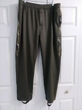 Men's REDHEAD Realtree Casual Camo Polyester Pants Size XLarge Army Green NICE!