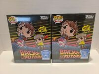 Funko Pop And Tee Back To The Future Marty McFly Hoverboard #964 Walmart Size XL