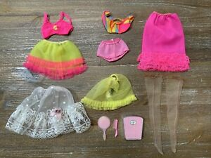 Vintage BARBIE Close Ups, Perfect Beginnings - Slip, Bra, Panties Petticoat VGC