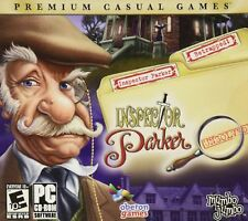 NEW SEALED Inspector Parker: Unsolved PC Video Game solve mystery clues castle