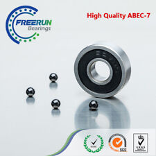 7X19X6 mm 607-2RS/C double rubber seal ABEC5 G5 Ceramic Front Engine Bearing