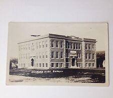 RPPC Vintage Postcard Orleans High School Photo Post Card