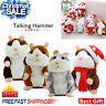 Cheeky Hamster Repeats What You Say Electronic Pet Talking Plush Toy a