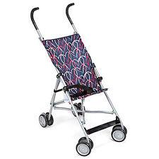 Cosco Umbrella Stroller Chalkboard Hearts 3-Point Harness, Lightweight, Portable