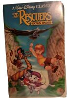 The Rescuers Down Under Walt Disney Classic Black Diamond Edition Rare VHS