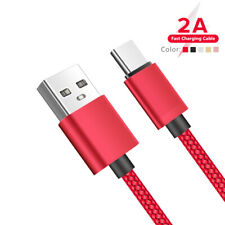Durable Braided Type C Micro USB Cable For Samsung Android Phone Tablets