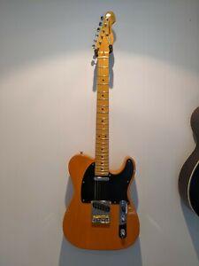 Vintage V52 Butterscotch Tele Style Guitar.