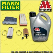 SERVICE KIT for VW PASSAT (3C) 2.0 TDI OIL AIR FUEL CABIN FILTERS +OIL 2005-2010