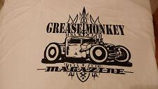 GREASE MONKEY  MAGAZINE - Hot Rod t-shirt XL. Art work by Jason North