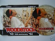JIMI HENDRIX WOODSTOCK 25TH FRANCE ONLY PROMO CD
