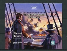 Marshall Islands 2014 MNH Star-spangled Banner Bicent 1v M/S National Anthem USA