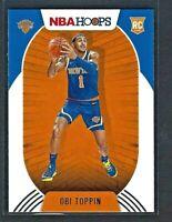Obi Toppin 2020-21 Panini NBA Hoops 1st True Knicks Rookie RC #226 New York Kn