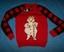 Size L Mens Ugly Christmas Sweater American Stitch Snowtorius