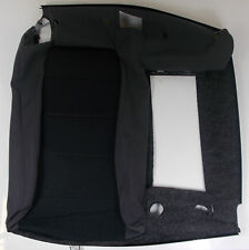 VW GOLF MK5 JETTA BLACK CLOTH RIGHT REAR SEAT BACKREST COVER - 1K0 885 806 LR