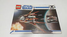 LEGO STARWARS  !! INSTRUCTIONS ONLY !! FOR 7752 COUNT DOOKU'S SOLAR SAILER