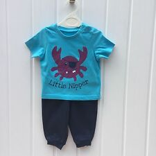 Novelty 100% Cotton Outfits & Sets (0-24 Months) for Boys