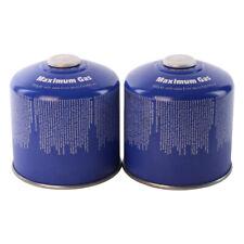 2 x 500g. Gaskartusche MSF1a/ES-01 Schraubverschluss MaXimum Gas