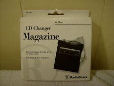 6 Disc Cd Changer Magazine Radio Shack 42-146 / New