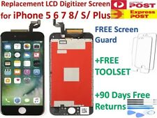 For iPhone 4 5 5C 5S 6 6 6s 7 Plus 8 SE LCD Screen Replacement Digitizer Display