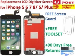 For iPhone 8+ 6s 7 Plus LCD Touch Screen Display + Digitizer Replacement + Tools