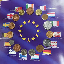 VINTAGE EURO COUNTDOWN - EUROPE'S FINAL NATIONAL COINS