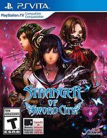 Stranger of Sword City for Playstation Vita Brand New! Factory Sealed!