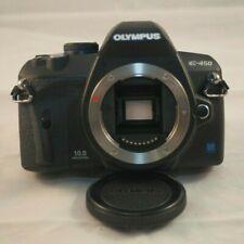 Olympus EVOLT E-450 10.0MP Digital SLR Camera - Black - Body Only - Excellent!