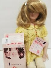 """Bell Doll Wigs #8 Tiffany blonde 13-14"""" new in box"""