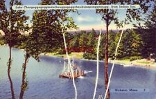 Lake Chargoggagoggmanchauggago ggchaubunagungamaugg Indian Inn Webster, Ma 1942