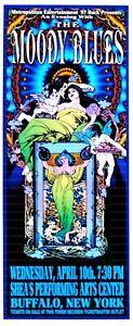Moody Blues Concert Poster 1997 Buffalo