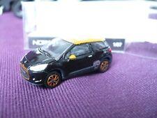 NOREV CITROEN DS 3 RACING 2011 ORANGE/BLACK AU 1/87 OU HO EN BOITE RÉF 155293
