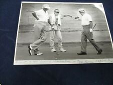 1987 Ted Kroll Nashawtuc gold course Vintage Glossy Press Photo
