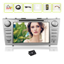 For Toyouta 8 Inch GPS Car Stereo CD DVD Player 2DIN Radio GPS NAVI+FREE CANBUS