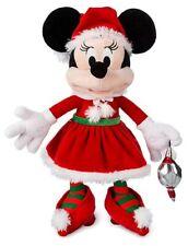 Disney 2019 Holiday Santa Minnie Mouse 17-Inch Plush