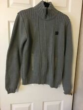 Men's No Pattern Zip Neck Other Jumpers & Cardigans