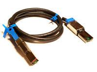 SFF-8644 (Mini SAS) to SFF-8088 (HD Data Cable) 3.2 Feet / 1 Meter (1M)