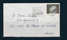 Eta/ enveloppe  Autriche pour la Suisse voyagée 1977 Fritz Herzmanovsky-Orlando
